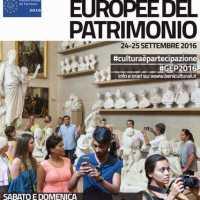 Giornate europee del patrimonio 2016