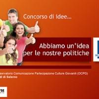 Concorso di idee: creazione di un logo per l'Osservatorio regionale delle Politiche Giovanili