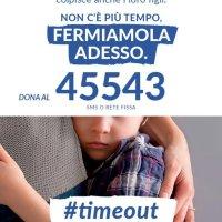 #timeout al via la Campagna di sensibilizzazione e raccolta fondi di WEWORLD contro la violenza sulle donne