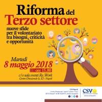 Riforma del Terzo settore: nuove sfide per il volontariato tra bisogni, criticità e opportunità