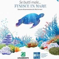 Se butti male…finisce in mare! Al via la seconda edizione del progetto educativo di Legambiente per le scuole