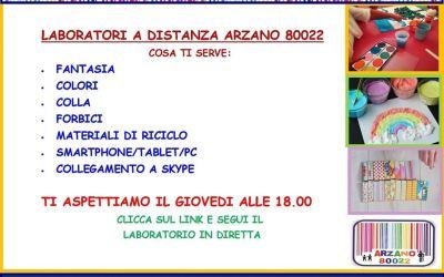 """I """"Giovedì Arzano 80022"""": spazi online di condivisione e creatività"""