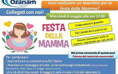Festa della mamma: realizza il tuo lavoretto con il laboratorio online del Centro Ozanam