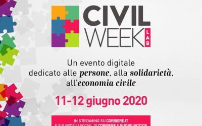 Civil week Lab: si terrà online il festival della cittadinanza attiva promosso da Buone Notizie