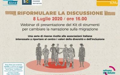 Narrare le migrazioni: nuovi strumenti per affrontare i temi dell'inclusione e della coesione sociale nel dibattito pubblico. Partecipa al webinar