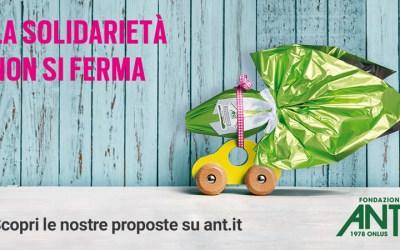 La solidarietà non si ferma I regali di Pasqua ANT sostengono l'assistenza domiciliare gratuita ai malati di tumore anche in tempo di Covid-19