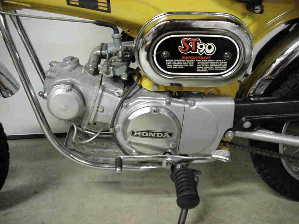 Honda Dax Saudaranya Si Monkey Honda XL125 Replica