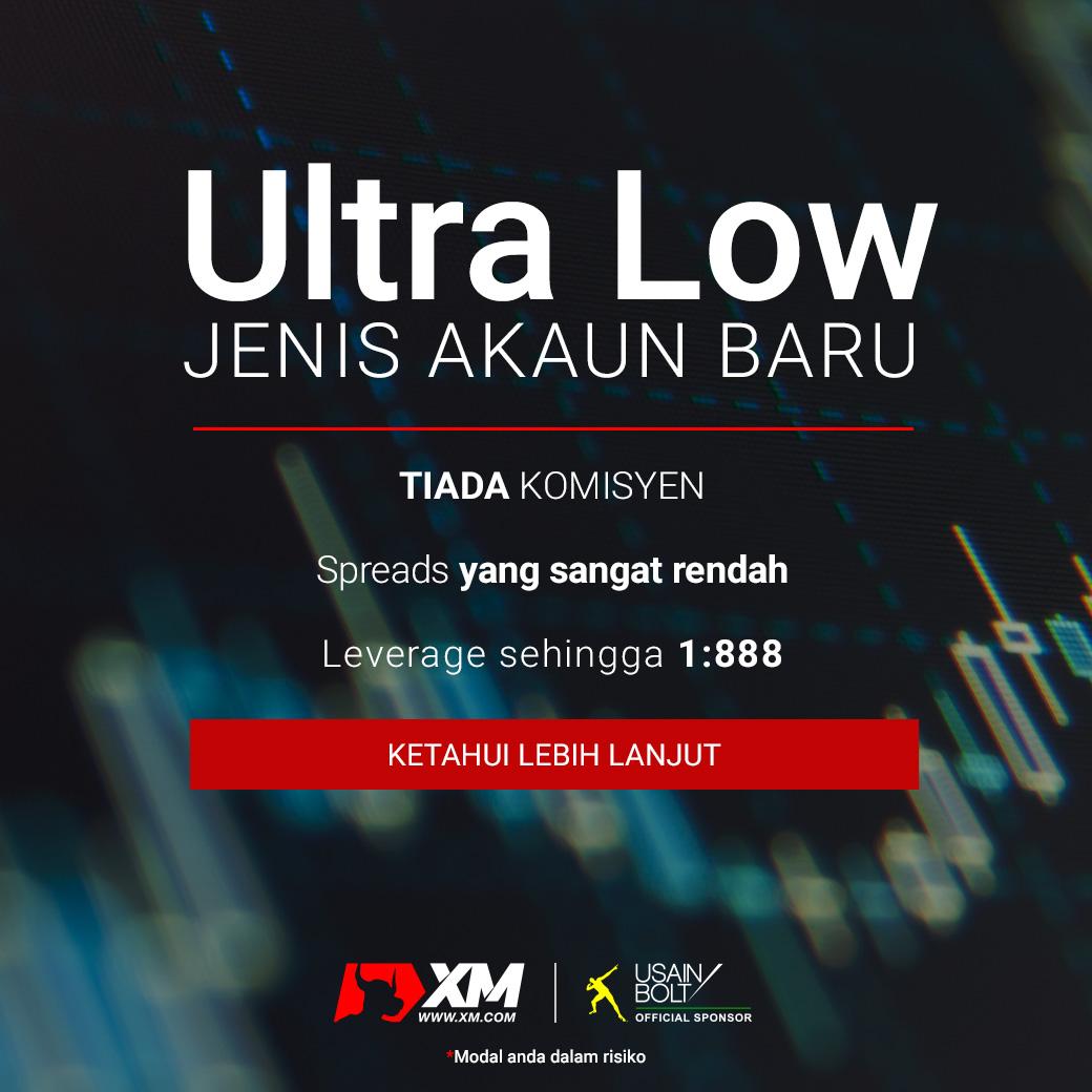 Jenis Akaun Terbaru XM Ultra Low