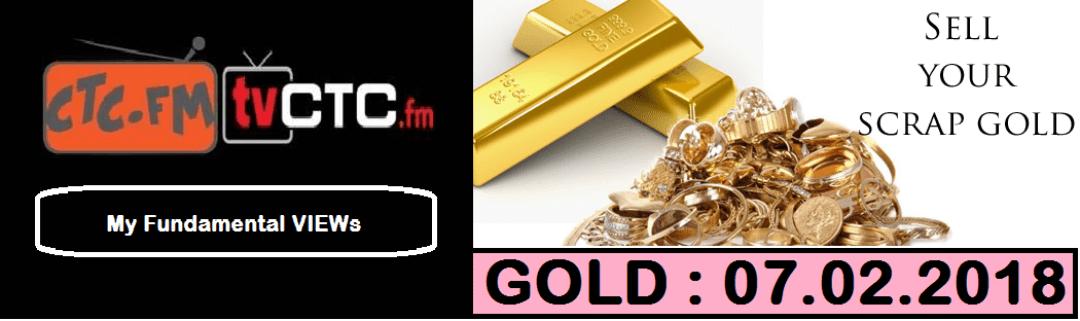 My Fundamental VIEWs : GOLD : 07.02.2018