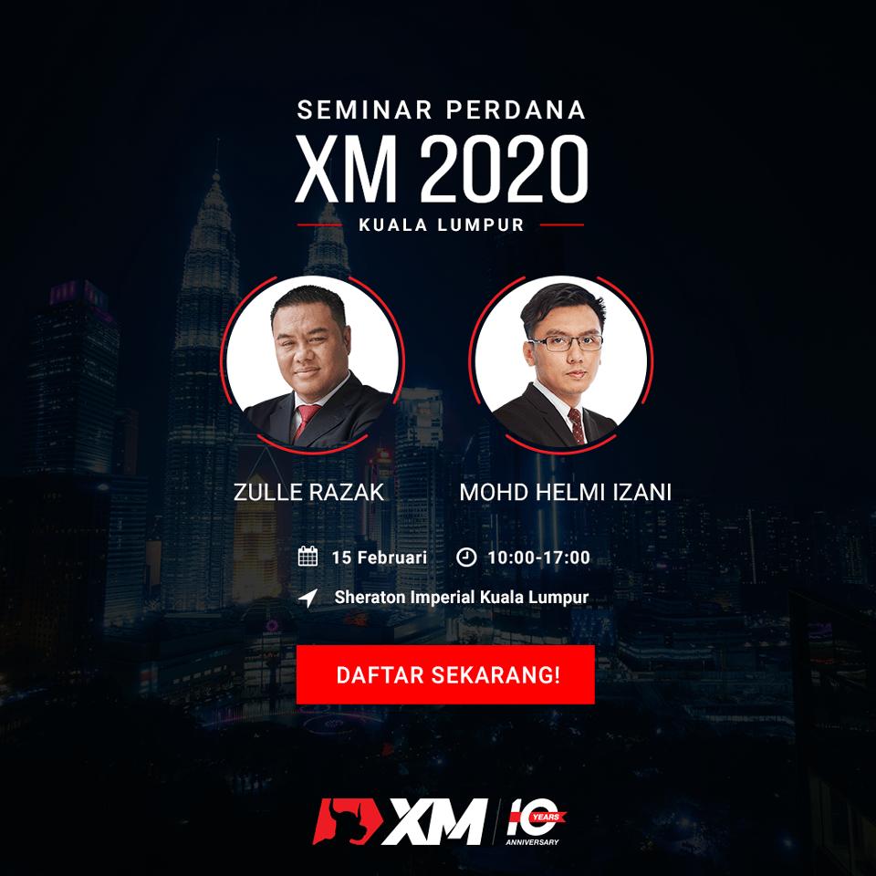 Seminar Perdana XM 2020 di Kuala Lumpur