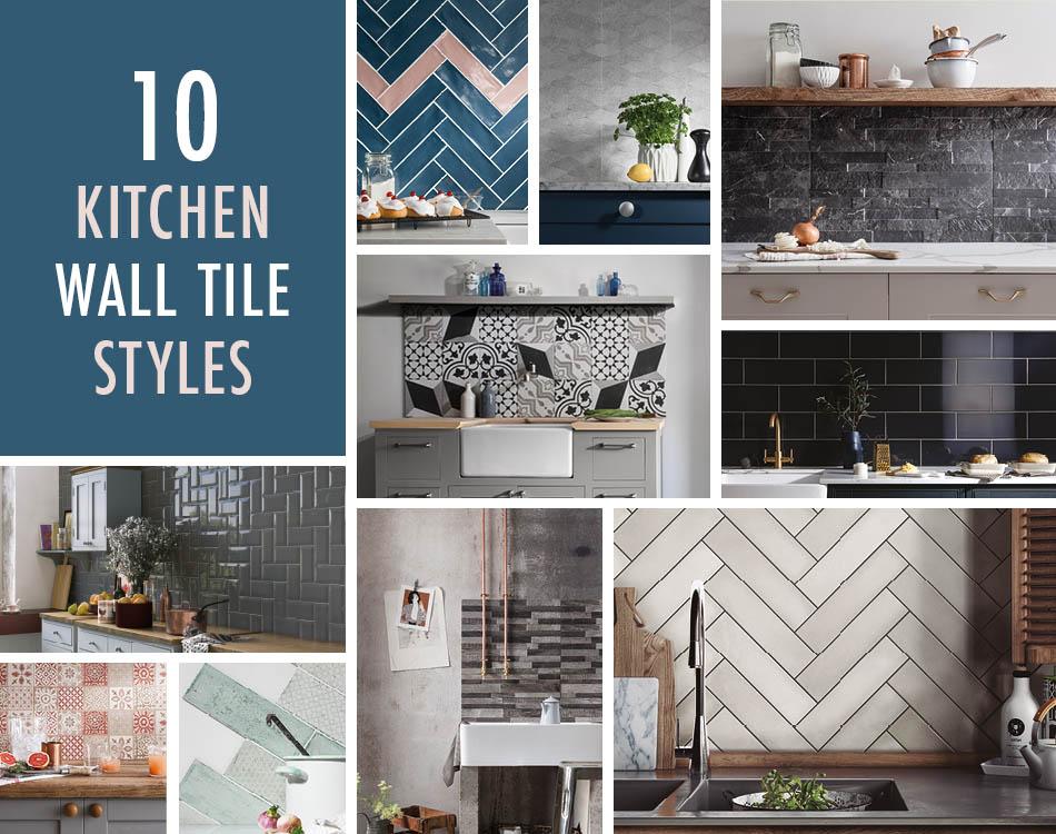 10 Kitchen Wall Tile Styles Modern Kitchen Wall Tiles Ideas
