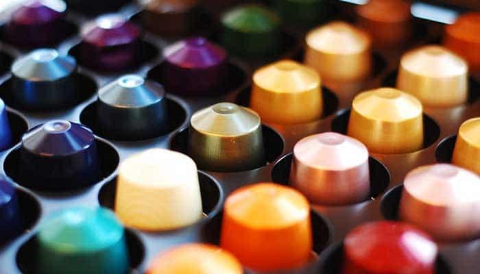 distributeurs capsules nespresso