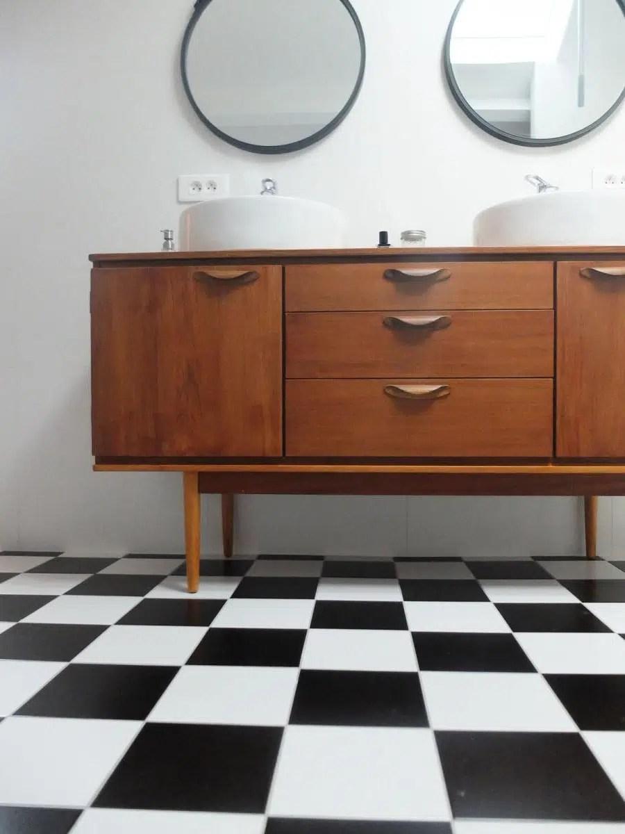 idee meuble sous lavabo interieur