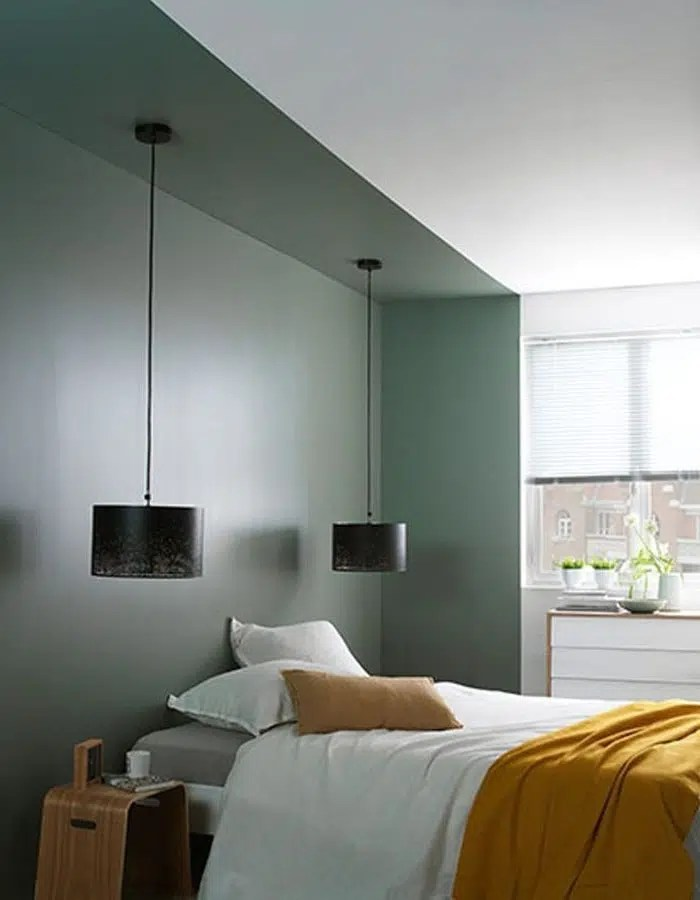 chambre verte inspirations idees et
