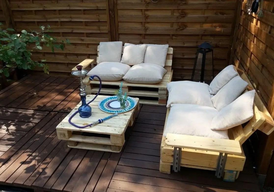 Fabriquer Un Salon De Jardin En Palette 30 Photos Et Idees Deco
