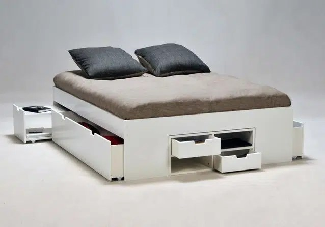 lit avec rangement notre selection