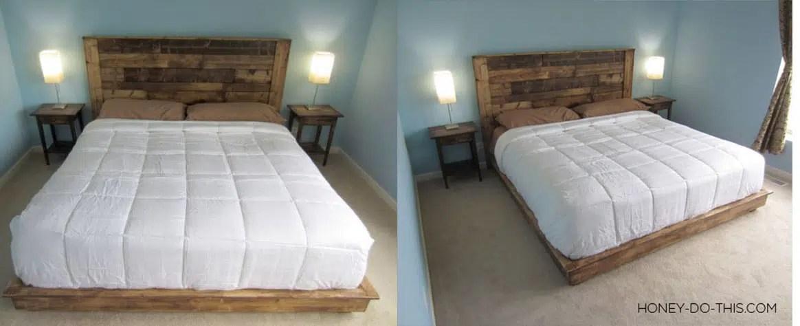 tete de lit en palette 39