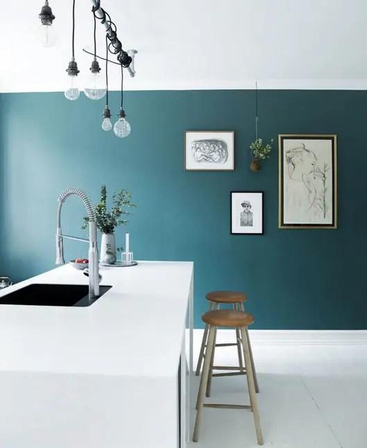 Cuisine Bleu Canard Les Plus Beaux Modeles De Cuisine