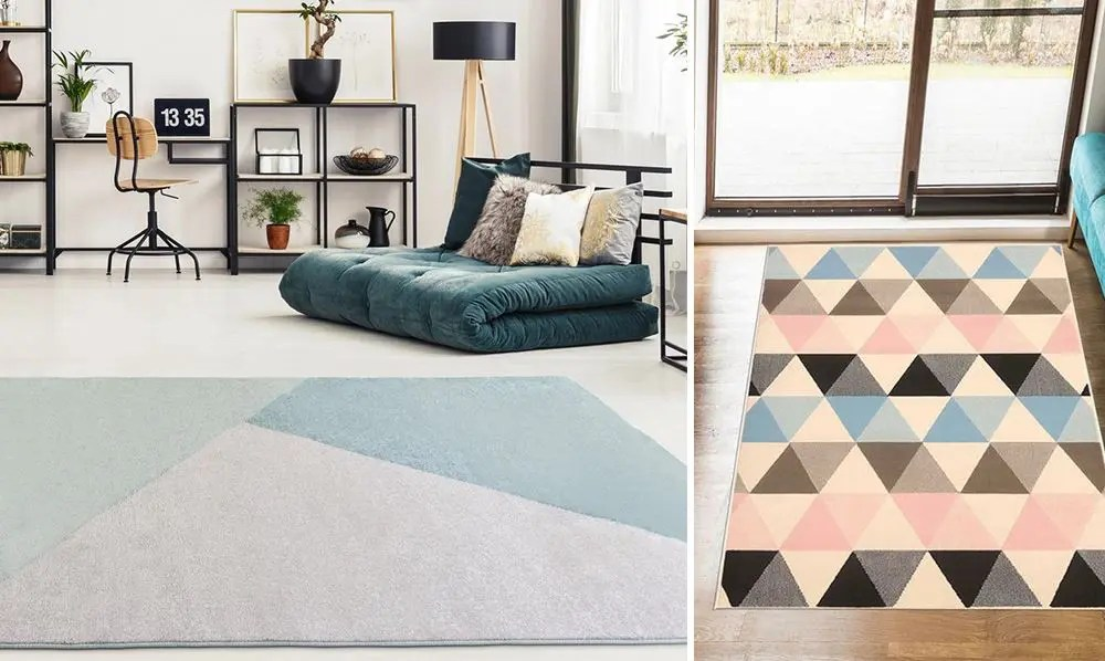 tapis couleur pastel en decoration