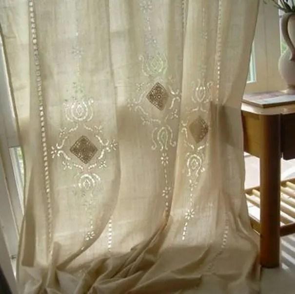 rideaux shabby chic les plus beaux