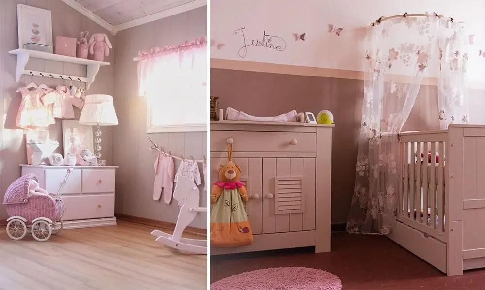 chambre bebe fille le rose et le