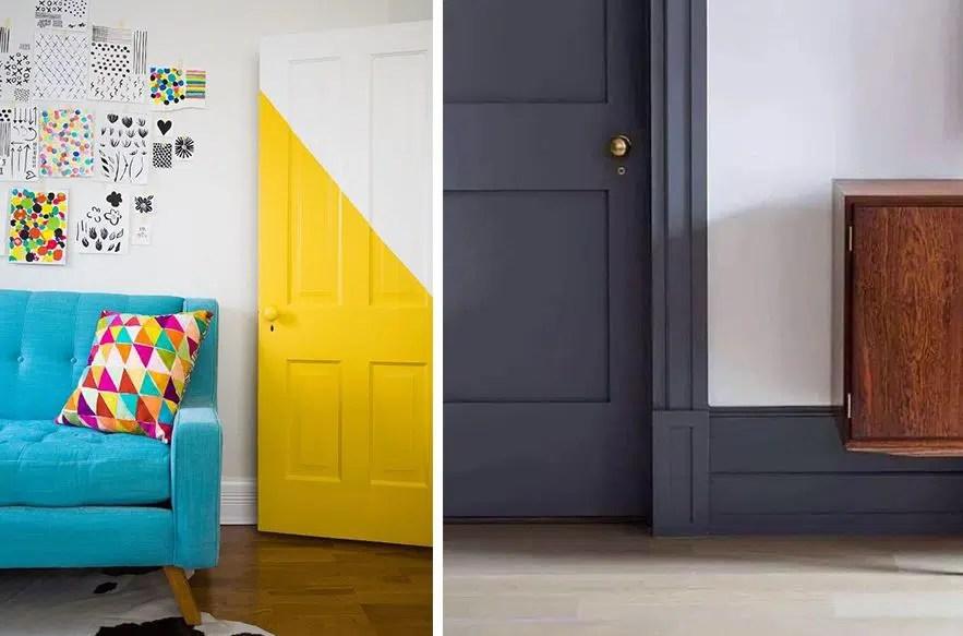 12 idees de couleurs pour vos portes