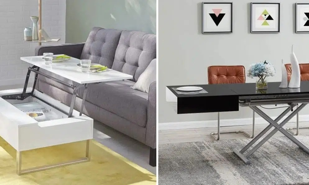 table basse relevable selection de 12