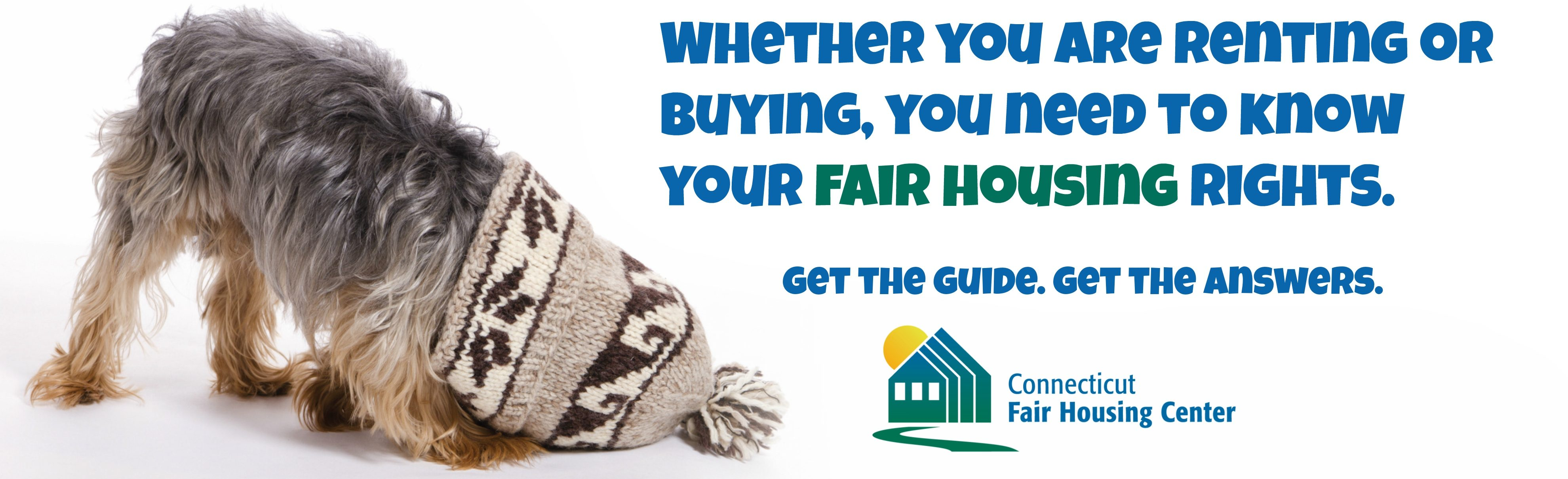 Whether you are renting or buying, you need to know your fair housing rights.
