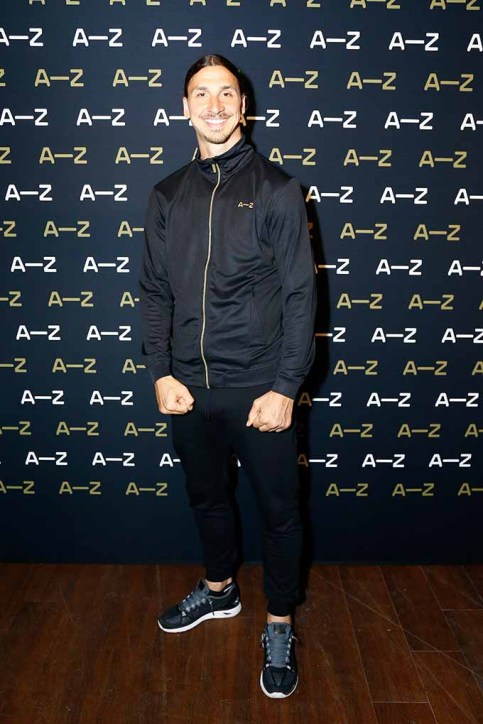 PARIS, FRANCE - JUNE 07: Zlatan Ibrahimovic attends the A-Z clothing line launch on June 7, 2016 in Paris, France. (Photo by Julien M. Hekimian/Getty Images) *** Local Caption *** Zlatan Ibrahimovic