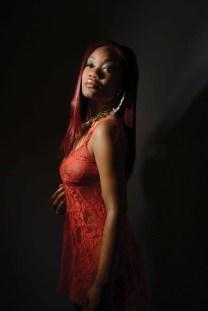 Photo by Mike Chaiken of Karlene Lindsay Designs. Model Jasmine Bunn.