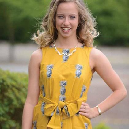 Miss Southington Jennifer Binversie at Malerbro Field, Bristol, Conn.