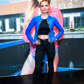 BERLIN, GERMANY - JUNE 29: Sophia Thomalla during the Freaky Nation 'COME FLY WITH ME' campaign on June 29, 2016 in Berlin, Germany. (Photo by Matthias Nareyek/Getty Images for FREAKY NATION) *** Local Caption *** Sophia Thomalla