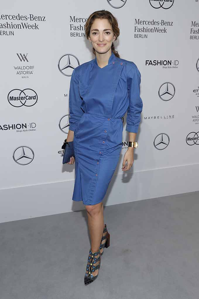 BERLIN, GERMANY - JUNE 30: Sofia Sanchez de Betak attends the 'Designer for Tomorrow' show during the Mercedes-Benz Fashion Week Berlin Spring/Summer 2017 at Erika Hess Eisstadion on June 30, 2016 in Berlin, Germany. (Photo by Luca Teuchmann/Getty Images for P&C and Fashion ID) *** Local Caption *** Sofia Sanchez de Betak