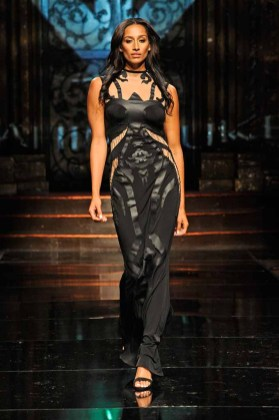NEW YORK, NY - SEPTEMBER 12: A model walks the runway wearing Ibrahim Vukel at Art Hearts Fashion NYFW The Shows presented by AIDS Healthcare Foundation at The Angel Orensanz Foundation on September 12, 2016 in New York City. (Photo by Arun Nevader/Getty Images for Art Hearts Fashion )