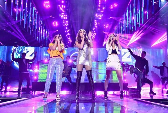 performs onstage during 2016 Nickelodeon HALO Awards at Basketball City - Pier 36 - South Street on November 11, 2016 in New York City.