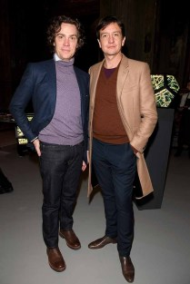 MILAN, ITALY - JANUARY 14: Anthony James (R) and Jay Fielden attend 'David Yurman - Where Design Meets Art' during Milan Men's Fashion Week Fall/Winter 2017/18 on January 14, 2017 in Milan, Italy. (Photo by Venturelli/Getty Images for David Yurman) *** Local Caption *** Anthony James; Jay Fielden