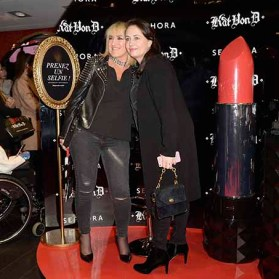 PARIS, FRANCE - JANUARY 23: Guests attends the Kat Von D Beauty opening weekend with influencers at Sephora Champs-Elysees on January 23, 2017 in Paris, France. (Photo by Dominique Charriau/Getty Images for Sephora)