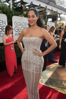 Tracee Ellis Ross attends the 74th Annual Golden Globe Awards at the Beverly Hilton in Beverly Hills, CA on Sunday, January 8, 2017.