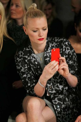 BERLIN, GERMANY - JANUARY 18: Franziska Knuppe attends the Laurel show during the Mercedes-Benz Fashion Week Berlin A/W 2017 at Kaufhaus Jandorf on January 18, 2017 in Berlin, Germany. (Photo by Franziska Krug/Getty Images for Laurel) *** Local Caption *** Franziska Knuppe