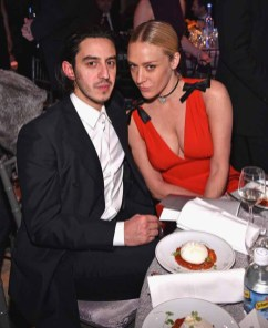 NEW YORK, NY - FEBRUARY 08: Ricky Saiz and Chloe Sevigny attends as Moet & Chandon Toasts to the amfAR New York Gala At Cipriani Wall Street at Cipriani Wall Street on February 8, 2017 in New York City. (Photo by Bryan Bedder/Getty Images for Moet & Chandon) *** Local Caption *** Ricky Saiz, Chloe Sevigny