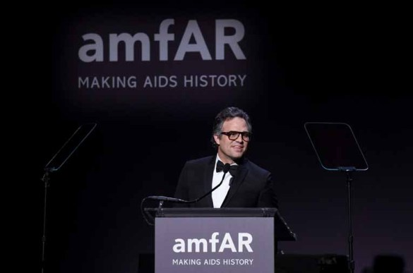 NEW YORK, NY - FEBRUARY 08: Actor Mark Ruffalo attends as Moet & Chandon Toasts to the amfAR New York Gala At Cipriani Wall Street at Cipriani Wall Street on February 8, 2017 in New York City. (Photo by Bryan Bedder/Getty Images for Moet & Chandon) *** Local Caption *** Mark Ruffalo