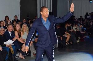 Don Lemon== The Blue Jacket Fashion Show to Benefit the Prostate Cancer Foundation== Pier 59 Studios, NYC== February 1, 2017== ©Patrick McMullan== photo - Patrick McMullan/PMC== == Don Lemon