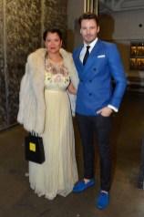 Keytt Lundqvist, Alex Lundqvist== The Blue Jacket Fashion Show to Benefit the Prostate Cancer Foundation== Pier 59 Studios, NYC== February 1, 2017== ©Patrick McMullan== photo - Patrick McMullan/PMC== == Keytt Lundqvist; Alex Lundqvist