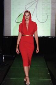 A Matthew Reisman design at Hartford Fashion Week last October. (MIKE CHAIKEN PHOTO)