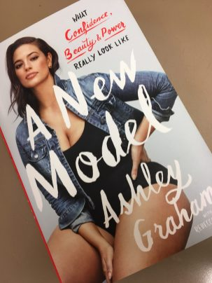 The cover of Ashley Graham's new book.