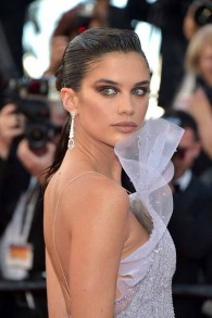 "CANNES, FRANCE - MAY 20: Sara Sampaio attends the ""120 Beats Per Minute (120 Battements Par Minute)"" screening during the 70th annual Cannes Film Festival at Palais des Festivals on May 20, 2017 in Cannes, France. (Photo by Pascal Le Segretain/Getty Images)"