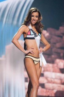 Cassie Lewis, Miss Idaho USA 2017, competes on stage in Yandy Swim during the MISS USA® Preliminary Competition at Mandalay Bay Convention Center on May 11, 2017. The Miss USA contestants have been touring, filming, rehearsing and preparing to compete for the Miss USA crown in Las Vegas, Nevada. Tune in to the FOX telecast at 8:00 PM ET live/PT tape-delayed on Sunday, May 14, from Mandalay Bay Resort and Casino Las Vegas to see who will become Miss USA. HO/The Miss Universe Organization