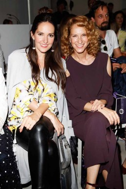 BERLIN, GERMANY - JULY 04: Johanna Klum and Chiara Schoras attend the Laurel show during the Mercedes-Benz Fashion Week Berlin Spring/Summer 2018 at Kaufhaus Jandorf on July 4, 2017 in Berlin, Germany. (Photo by Franziska Krug/Getty Images for Laurel) *** Local Caption *** Chiara Schoras;Johanna Klum