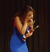 Alexandria Gianelli learns she is the new Miss Wolcott.