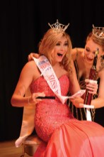 Ava Onofreo is crowned the new Miss Wolcott's Outstanding Teen.
